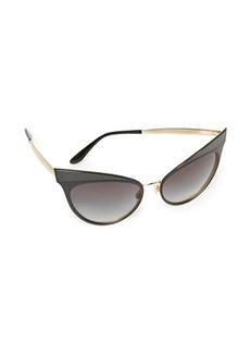 Dolce & Gabbana Grosgrain Cat Eye Sunglasses