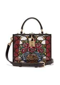Dolce & Gabbana Hand-painted perspex bag