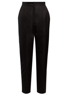 Dolce & Gabbana High-rise cropped trousers