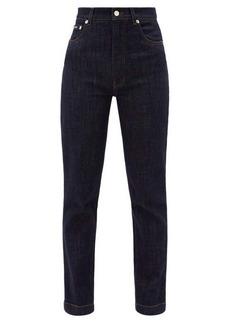 Dolce & Gabbana High-rise straight-leg jeans