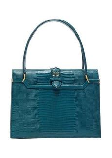 Dolce & Gabbana Ingrid small lizard-effect leather bag