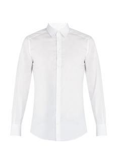 Dolce & Gabbana Johnny stretch-poplin shirt