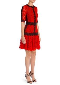 Dolce & Gabbana Lace Fit-&-Flare Dress
