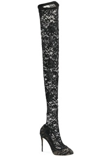 Dolce & Gabbana Coco thigh-high boots