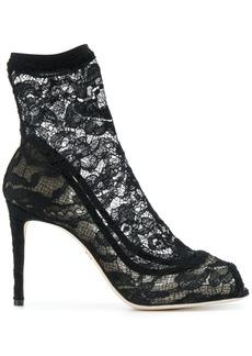 Dolce & Gabbana lace shoe boots