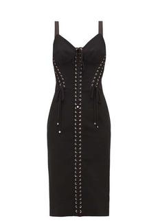 Dolce & Gabbana Lace-up corset dress