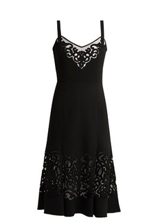 Dolce & Gabbana Laser-cut midi dress