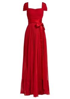 Dolce & Gabbana Layered silk-tulle gown