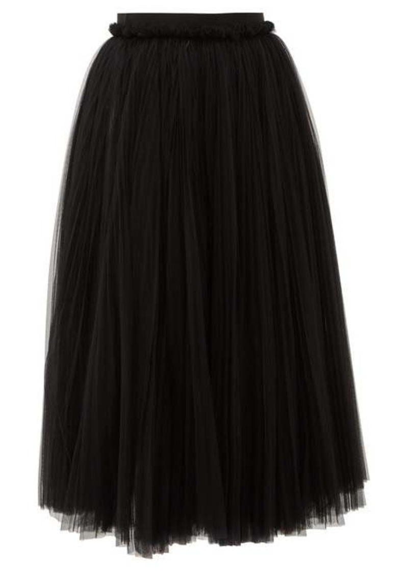 Dolce & Gabbana Layered tulle midi skirt