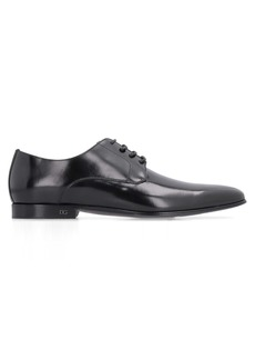 Dolce & Gabbana Leather Lace-up Derby Shoes