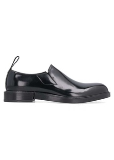 Dolce & Gabbana Leather Slip-on Shoes