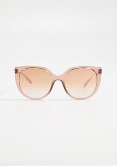Dolce & Gabbana Line Cat Eye Sunglasses