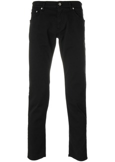 Dolce & Gabbana logo embellished jeans - Black