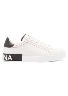 Dolce & Gabbana Logo leather trainers