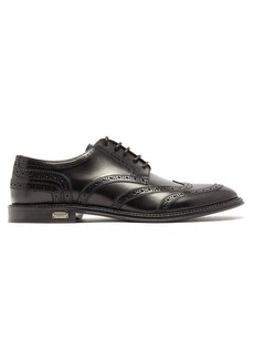 Dolce & Gabbana Logo-plaque leather brogues