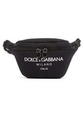 Dolce & Gabbana Logo-print neoprene belt bag