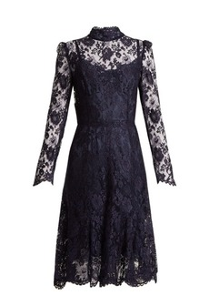 Dolce & Gabbana Long-sleeved Cordonetto-lace dress