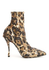 Dolce & Gabbana Lori Sequined Booties