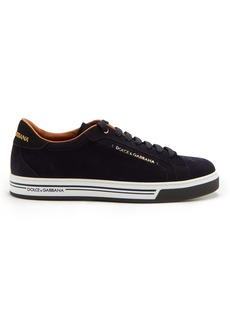 Dolce & Gabbana Low-top suede trainers
