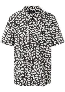 Dolce & Gabbana Memphis print bowling shirt - Black
