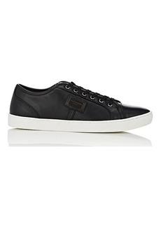 Dolce & Gabbana Men's Cap-Toe Leather Sneakers