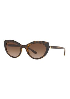Dolce & Gabbana Monochromatic Cat-Eye Sunglasses