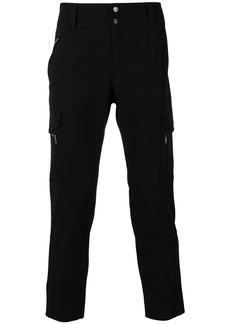Dolce & Gabbana multi-pocket straight leg trousers - Black