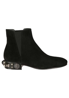 Dolce & Gabbana Napole Beatle Ankle Boots