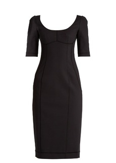 Dolce & Gabbana Nate scoop-neck stretch-cotton dress