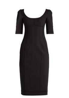 Dolce & Gabbana Nate scoop-neck stretch-cotton dress