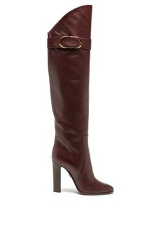 Dolce & Gabbana Over-the-knee leather boots