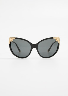 Dolce & Gabbana Oversized Cat Eye Sunglasses