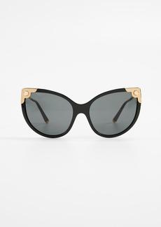 Dolce & Gabbana Oversized Cat Eye Sunglasses