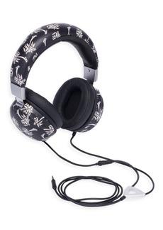 Dolce & Gabbana Palm Tree Leather Headphone