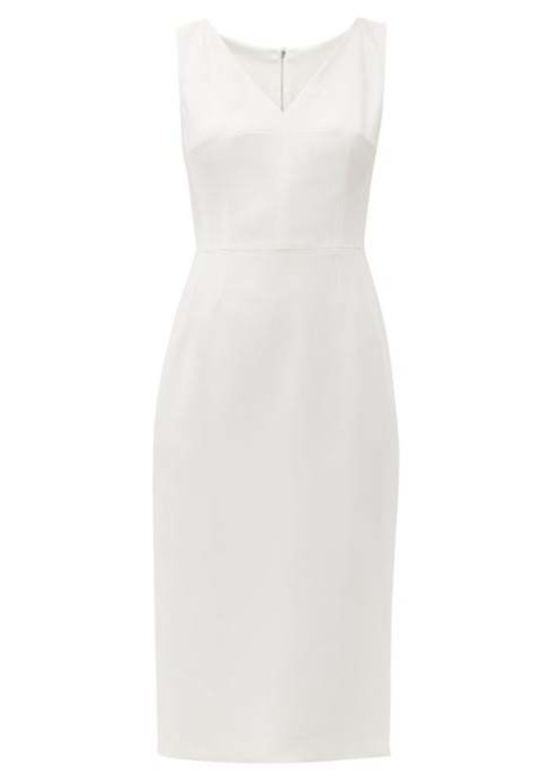 Dolce & Gabbana Panelled cady crepe pencil dress