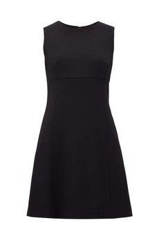 Dolce & Gabbana Panelled wool-crepe dress