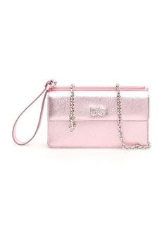 Dolce & Gabbana Phone Bag With Crystal Dg