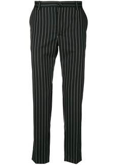 Dolce & Gabbana pinstriped trousers - Black