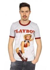 Dolce & Gabbana Playboy mens t-shirt short sleeve
