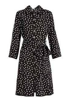 Dolce & Gabbana Polka dot-print crepe dress