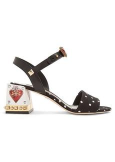 Dolce & Gabbana Polka-dot print sandals