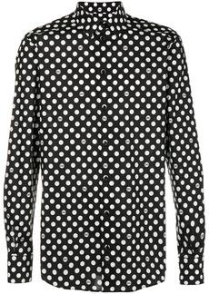 Dolce & Gabbana polka dot shirt - Black