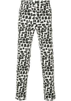 Dolce & Gabbana printed trousers - Black