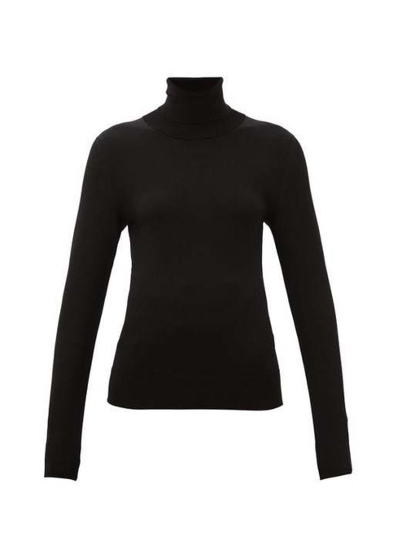 Dolce & Gabbana Roll-neck jersey sweater