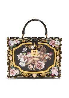 Dolce & Gabbana Rose and cherub painted box bag