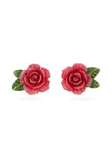 Dolce & Gabbana Rose stud earrings