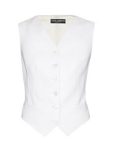Dolce & Gabbana Satin-backed waistcoat