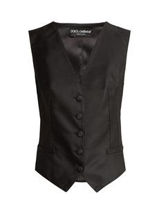Dolce & Gabbana Satin waistcoat
