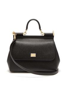 Dolce & Gabbana Sicily medium grained-leather bag