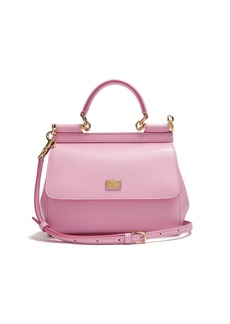 Dolce & Gabbana Sicily small dauphine-leather bag